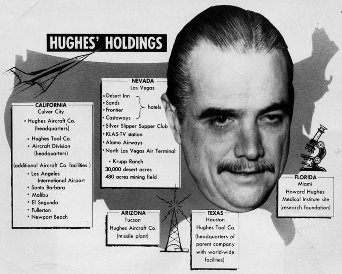 The Howard Robard Hughes Jr Page Of The Clover Field